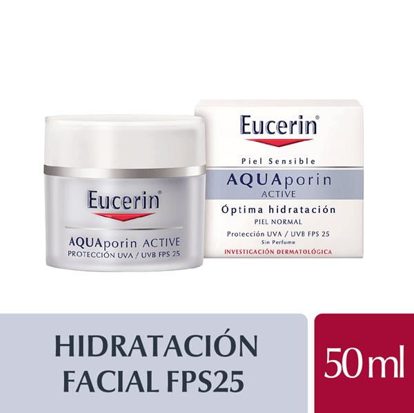Eucerin Aquaporin Active Crema Uva/b Fps25 X 50 Ml