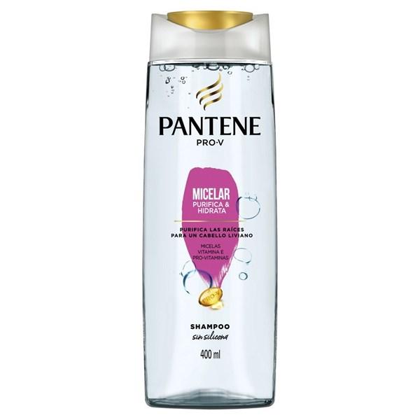 Shampoo Pantene Micelar Purifica E Hidrata X 400 Ml alt