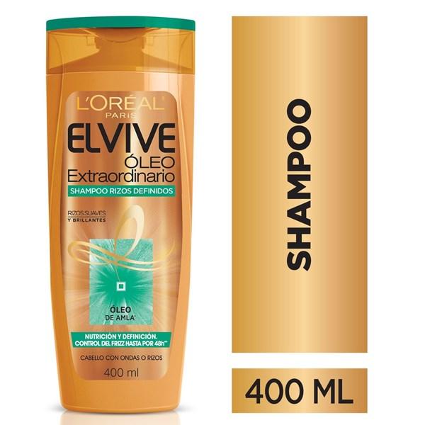 Shampoo Óleo Extraordinario Rizos Definidos Elvive Loreal Pa