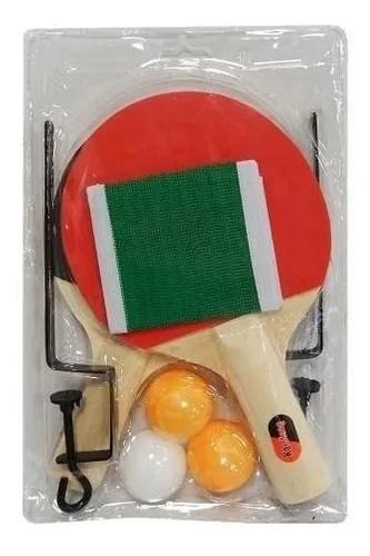 Paletas De Ping Pong Con Red Juguete Regail alt