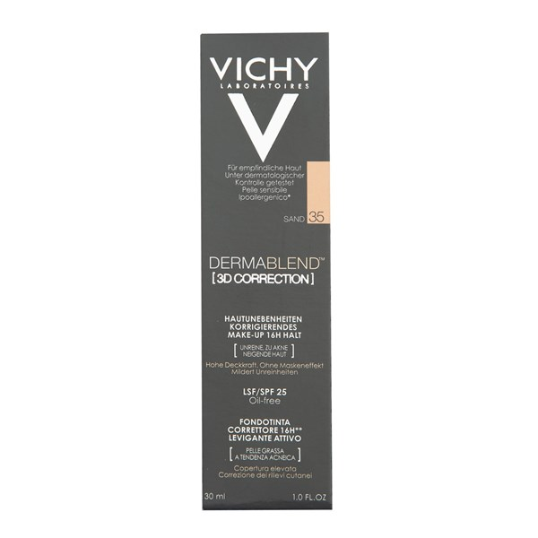 VICHY DERMABLEND 3D CORRECTION 35 T30ML Pomo30ml. #1