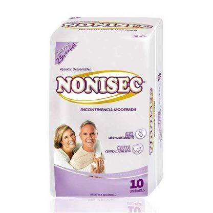 Nonisec Toallitas Para Incontinencia Moderada x10 Unidades