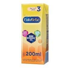 Leche infantil 1 a 3 años Enfabebe 3  x 200 ml