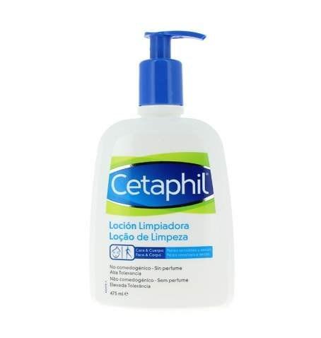 Cetaphil loción limpiadora rostro y cuerpo 473 ml