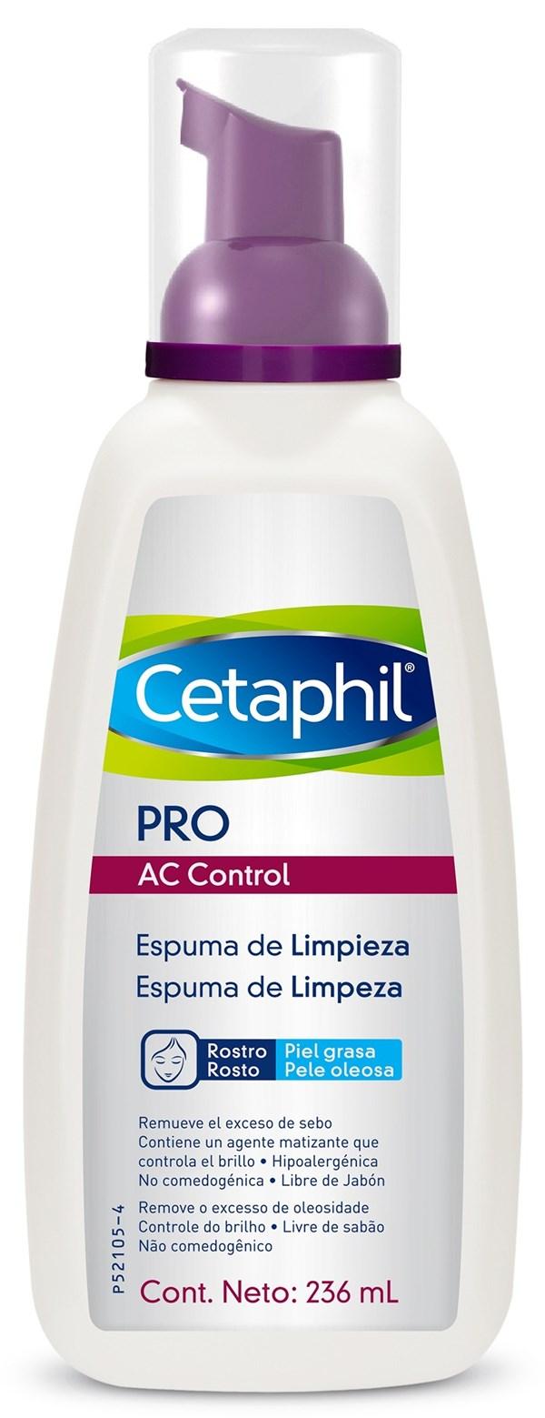 Cetaphil Pro Ac Control Espuma De Limpieza X 236 Ml