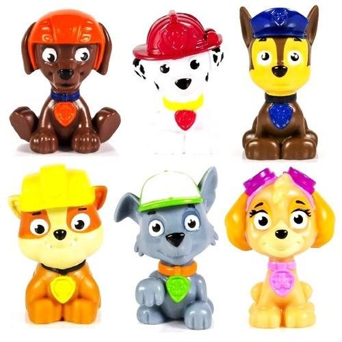 Muñecos Paw Patrol x6  alt
