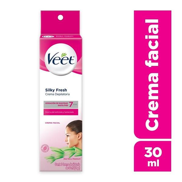 Crema Depilatoria Veet Facial Piel Sensible X 30 Ml