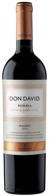 DON DAVID RESERVA MALBEC x 750 CC