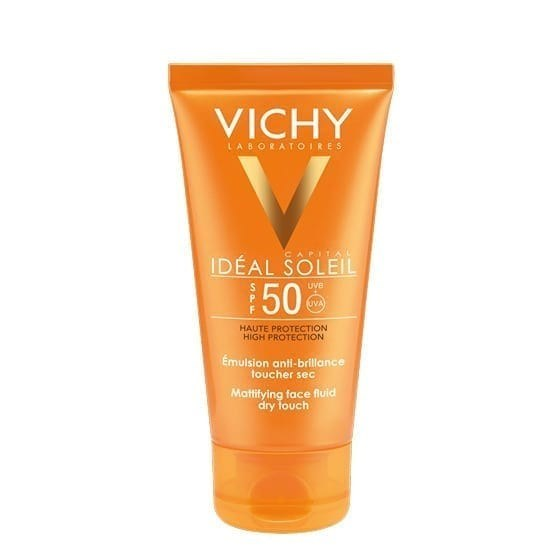 VICHY Ideal Soleil Crema FPS 50  Toque Seco Pomo 50ml.