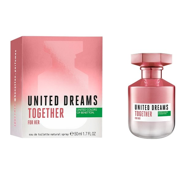 Perfume Benetton Uneited Dreams Together For Her Edt X 50 Ml #1