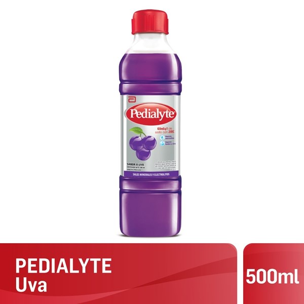 Pedialyte Uva 500 Ml