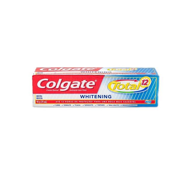 Pasta Dental  Colgate x 90g Total12 Whitening PROMO 2X1