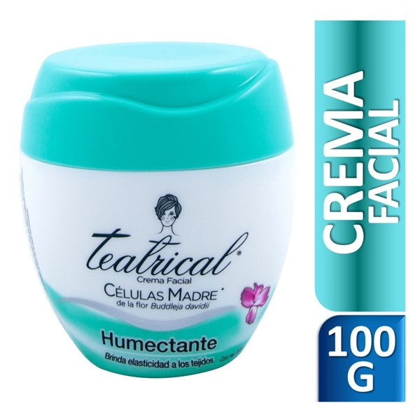 Teatrical Crema Humectante X 100 Gr