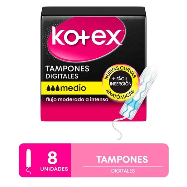 Kotex Tampon Medio X 8