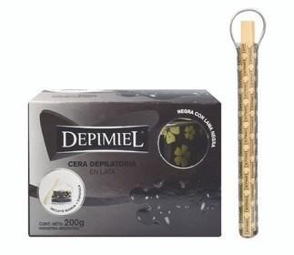 Depimiel, cera en lata Negra 200 g #1