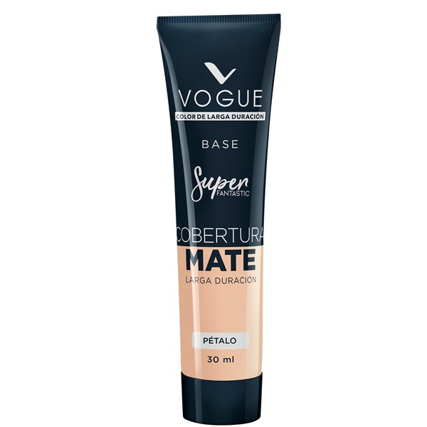 Base De Maquillaje Vogue Super Fantastic Mate Pétalo