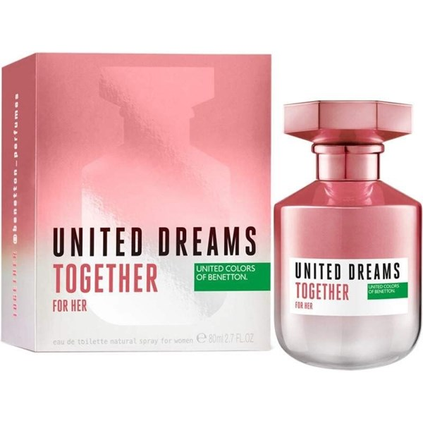 Perfume Benetton Uneited Dreams Together For Her Edt X 80 Ml
