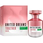 Perfume Benetton Uneited Dreams Together For Her Edt X 80 Ml #1