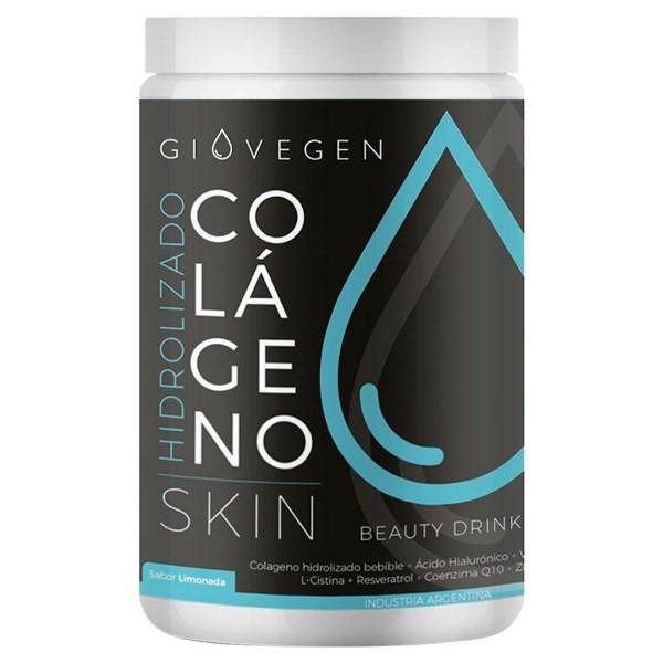 Colágeno Hidrolizado Giovegen Skin Sabor Limonada 420g