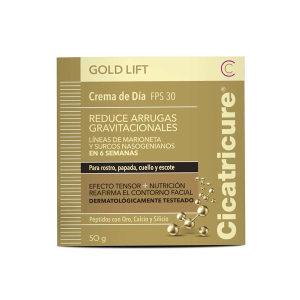 Cicatricure Crema Facial Gold Lift Día 50g