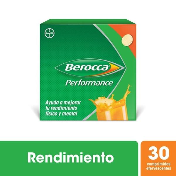 Multivitaminico Berocca Performance Comprimidos Efervescentes X 30