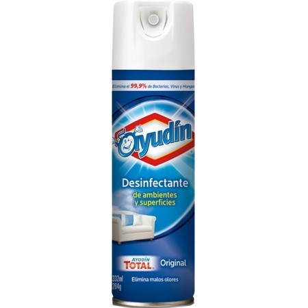 Ayudin Aerosol Desinfectante Fragancia Original 332ml #1