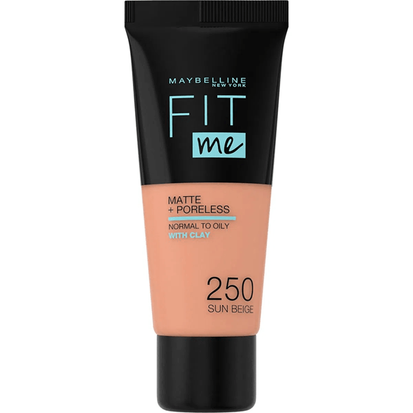 MYMB Fitme Matte 250 Sun Beige Maquillaje #1