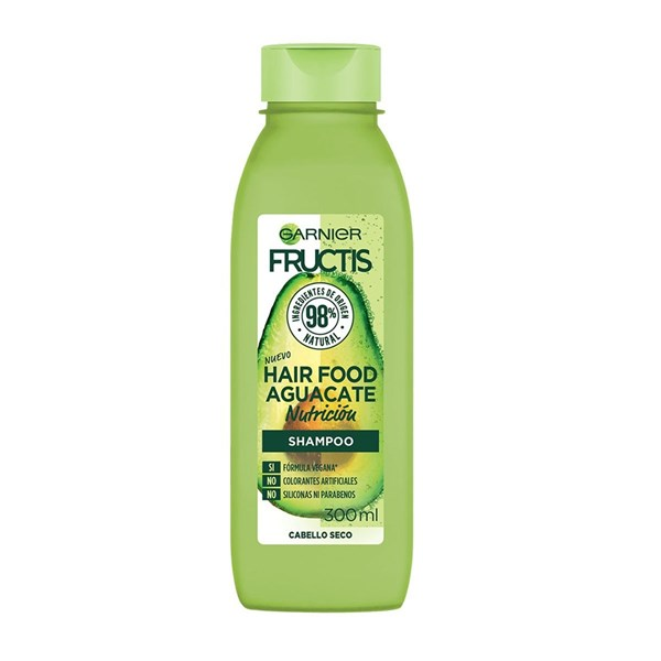 Fructis Shampoo Hair Food Aguacate 300ml