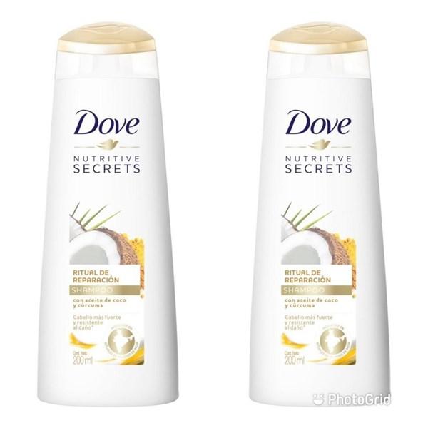 DOVE Shampoo RITUAL DE REPARACIÓN x 200 ml  #1