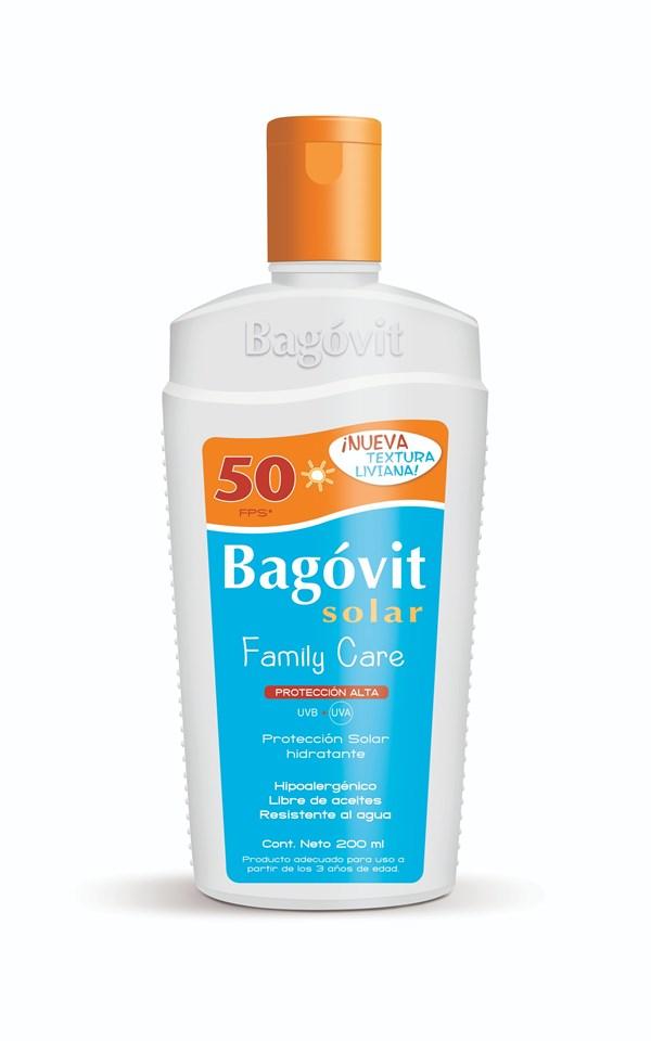 Bagovit Solar Family Care FP50 Emulsión X 200 Ml