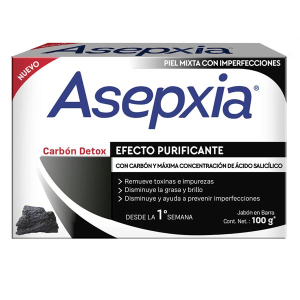 Asepxia Carbón Jabón X 100 Gr alt