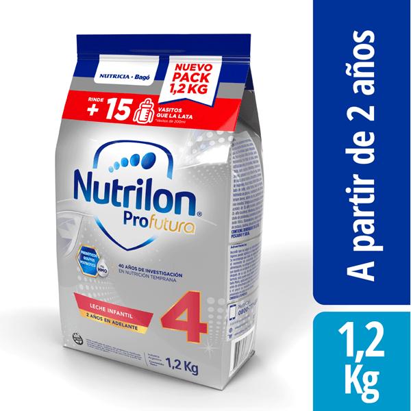 Leche Nutrilon 4 Profutura Pouch X 1,2 Kg