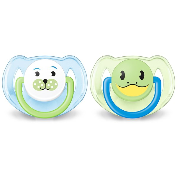 Chupete Ultra Air Liso Avent 0-6 Meses Verde