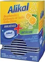 Alikal Bicarbonato Y Carbonato De Sodio Ácido Cítrico Sabor Limon x30 Sobres