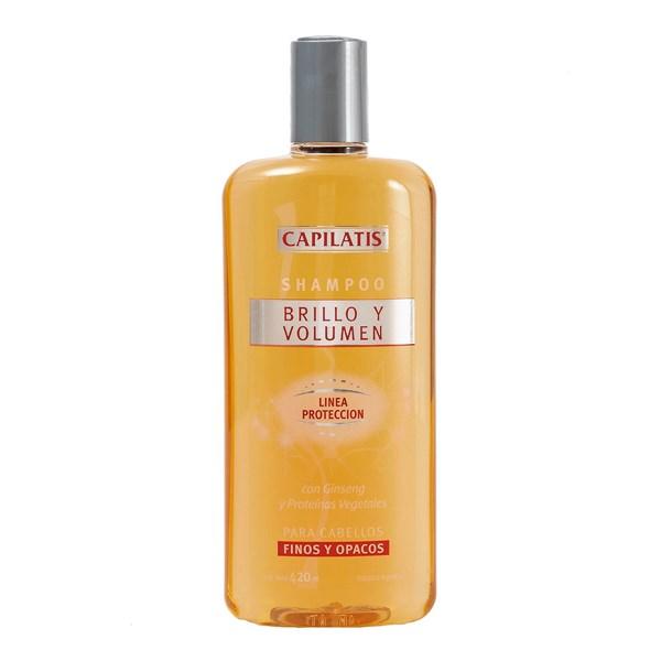 Capilatis Shampoo x420ml Brillo Volumen
