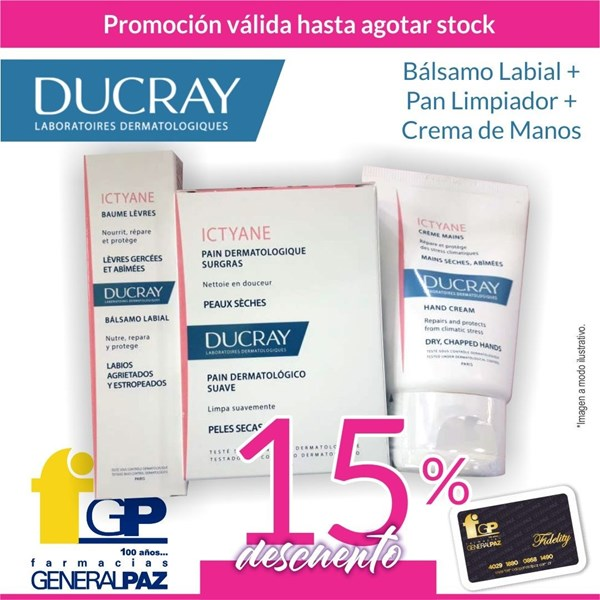 Kit / Pack Ducray Ictyane