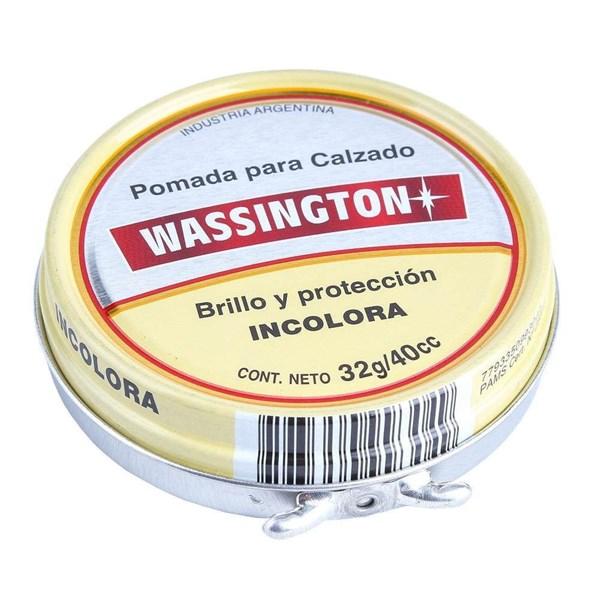 POMADA WASSINGTON INCOLORA x 32 GRS