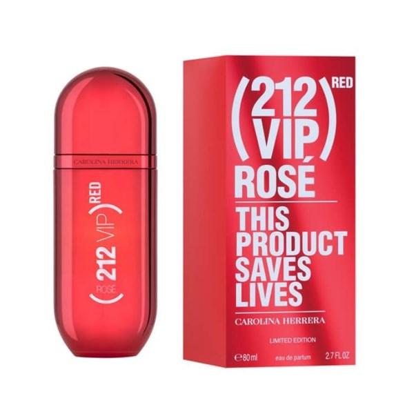 Perfume Importado 212 Vip Rosé Red Edp X 80 Ml.