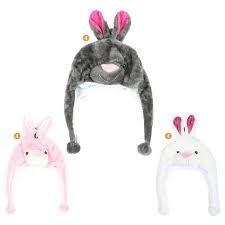 Gorro Coya Infantil Peluche Con Carita Conejo