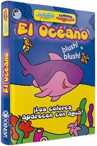 Libro El Océano Aqualibros Colores Mágicos
