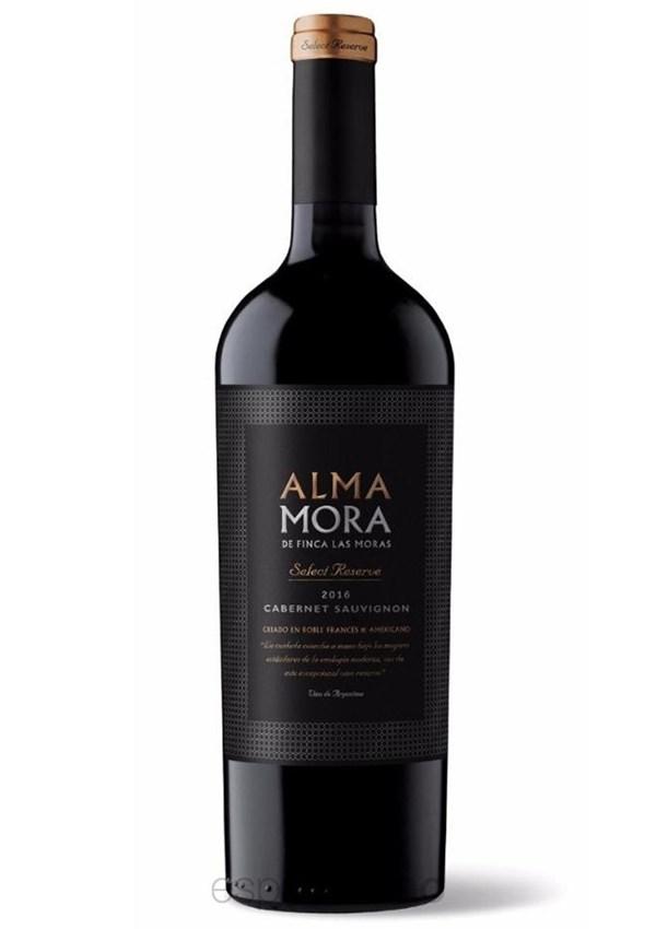 ALMA MORA SELECT RESERVE CABERNET SAUVIGNON x 750 CC