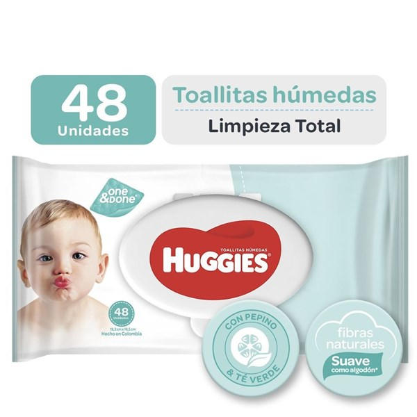 Huggies Toalla Limpieza Total X 48