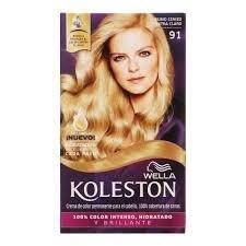 Koleston Kit N° 91 Rubio Ceniza Extra Claro