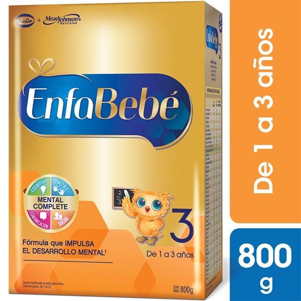 Leche Enfabebe 3 Estuche X 800 Gr