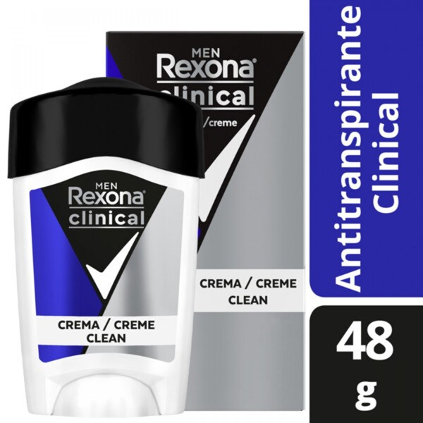Desodorante Rexona Clinical Men Ap Crema X 48 Gr