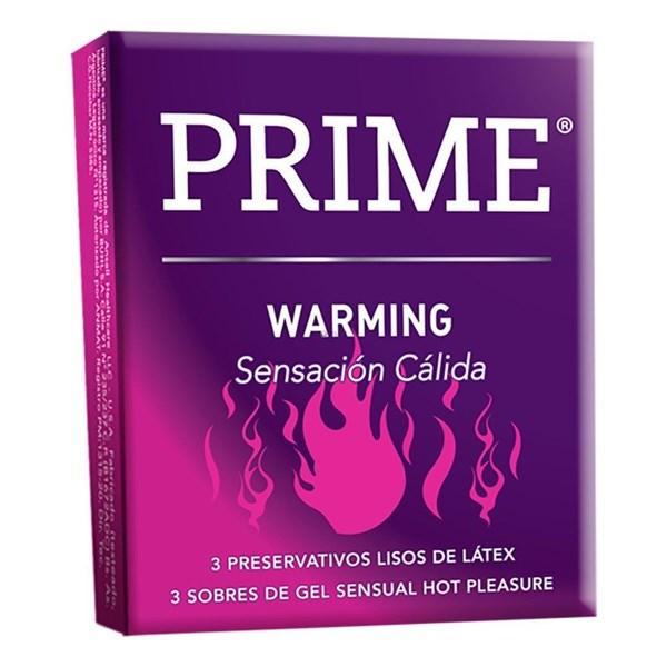 Preservativos Warming X 3 Unidades
