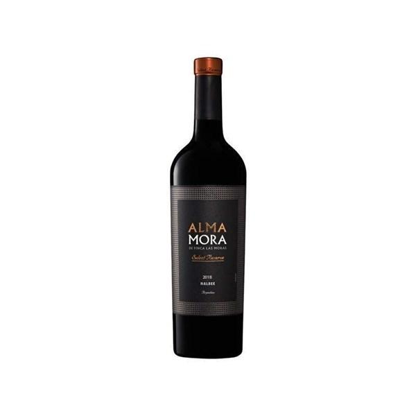 ALMA MORA SELECT RESERVE MALBEC x 750 CC