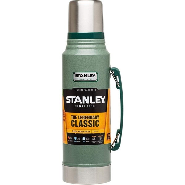 Termo Acero Inoxidable Stanley 1 Lts Clasico Medium #1