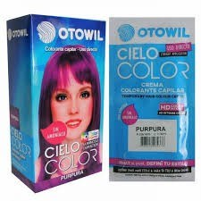 Otowil Colorante Cielo Color Púrpura Sobre 50g