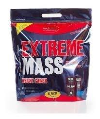 Extreme Mass Ganador de Peso Chocolate 4,5 Kg